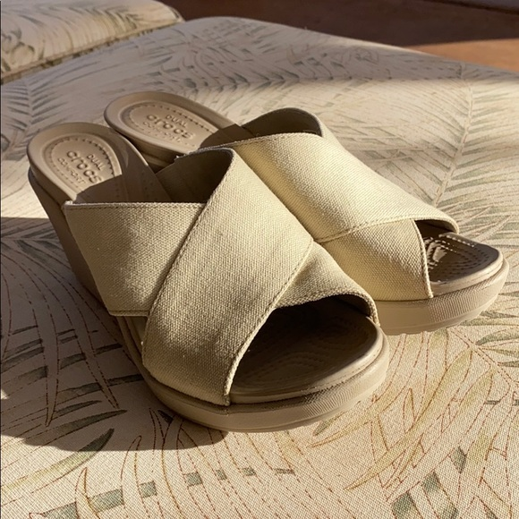 CROCS Shoes | Crocs Dual Comfort Wedge